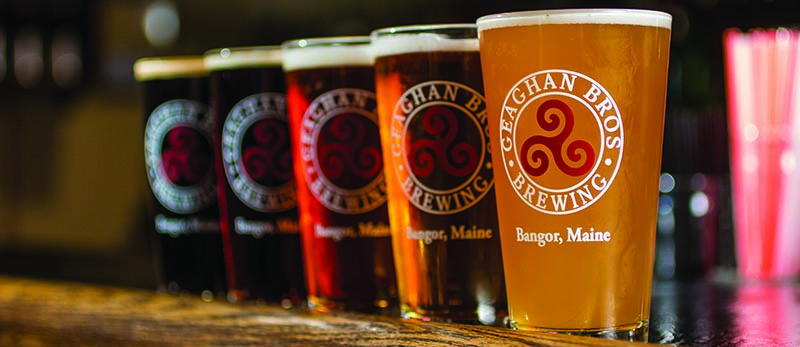 geaghan bros brewing beers