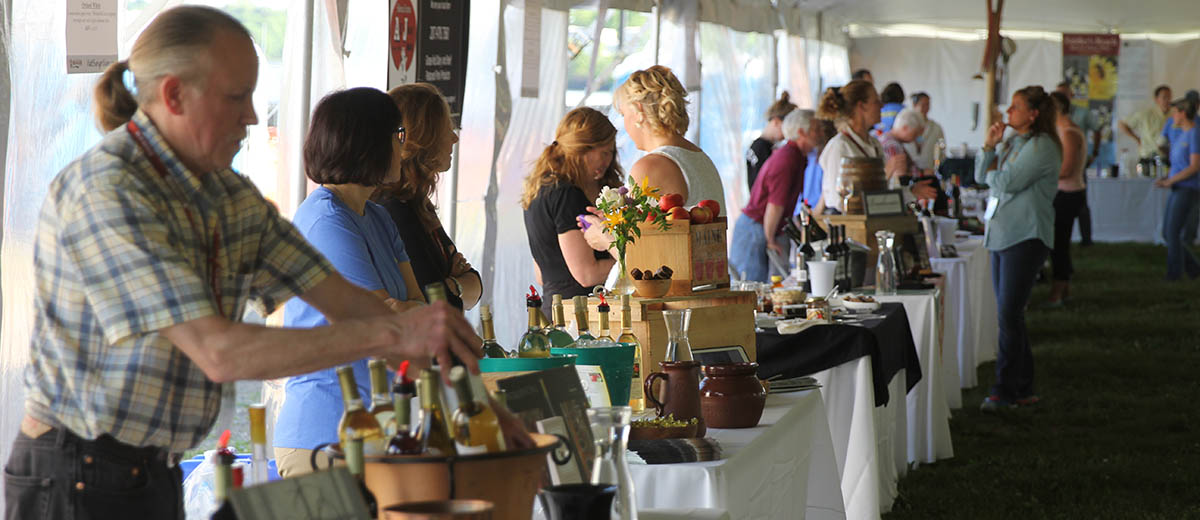 wine on the waterfront vendors