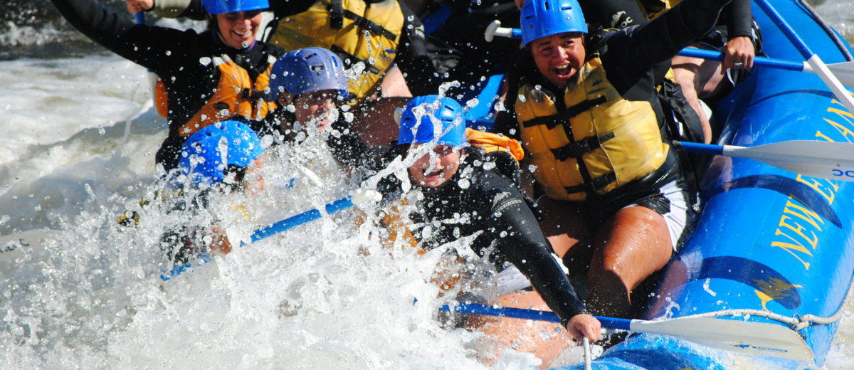100 Things to Do river rafting