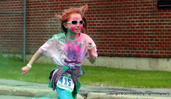 Bangor Color Run Girl