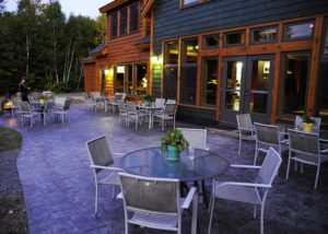 Bangor Maine B and B Patio