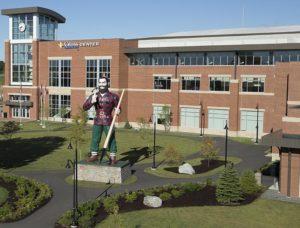 Bangor Maine Cross Center Paul Bunyan