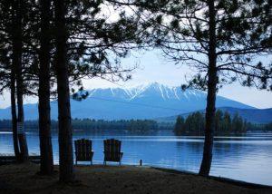 Bangor Maine View of Snow Mountain