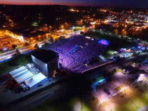 bangor waterfront concerts night