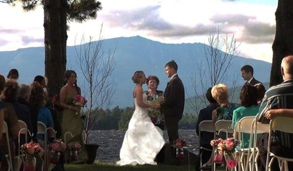 Maine Wedding Mountains